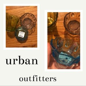 new💓UO set of 3 glass jewelry catch-all bowls